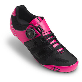 Giro Raes Techlace Shoes Dame bright pink/black